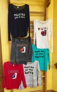 pilates activewear shirts